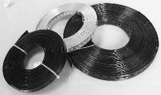 Lochband verzinkt und KU beschichtet 10mtr. Breite 14mm VPE10