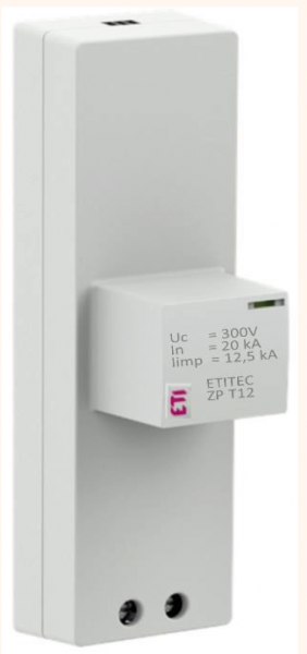 ETITEC SM Kombi-Ableiter mit gasgefüllten Funkenstrecken