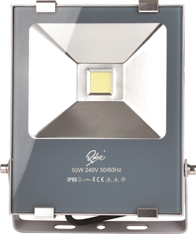 LED 6500K, Gehäuse silber/grau