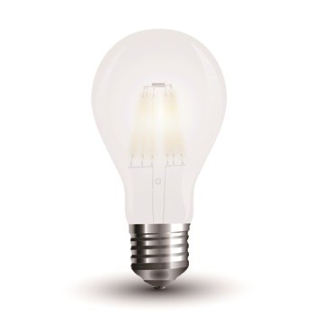 LED 6W ersetzt 60W, E27, 660lm, 2700K, 300°, 20.000h, incl. WEEE