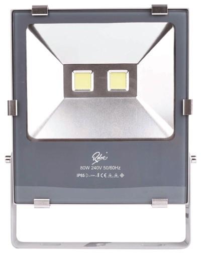 LED 3500K. Gehäuse silber/grau