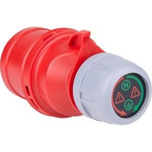 CEE Strommessstecker mit LED Anzeige (32A 5p 6h 400V)