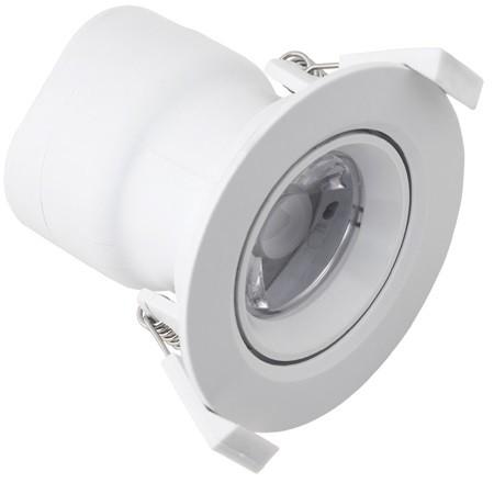 schwenkbar LED 7W ers, 1x18, 580lm, 3000K warmweiß