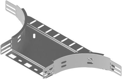 für Kabelrinne 400mm, Seitenauslaß