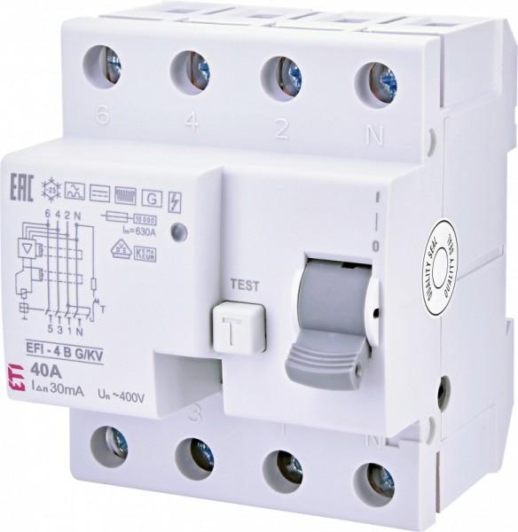 EFI-4, A-Typ, eV 4-polig 63A (0,03 A)