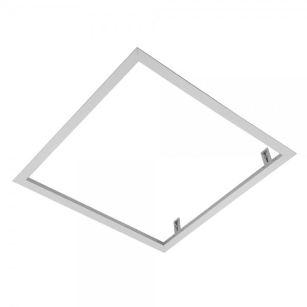 Einschraubbarer Einbaurahmen , weiß Leuchte Modul, Modul 625, quadratisch