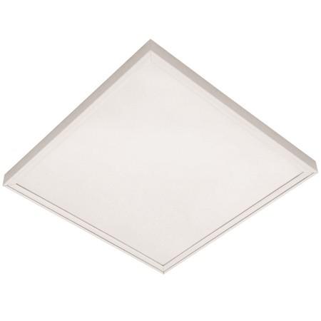 Aufbaurahmen quadratisch weiß, LxBxH 627x627x45