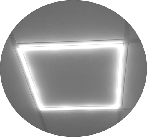 LED 40W, 3200lm, 3000K, CRI 80, 25.000h, icl Driver ND