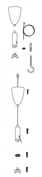 Seilaufhängungen