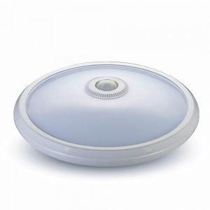 LED IP65 sensor, 15W ersetzt 2x18, 1400lm, 4000k weiß