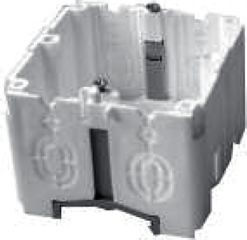 Einbaudose 1fach für BK Metall Kanal