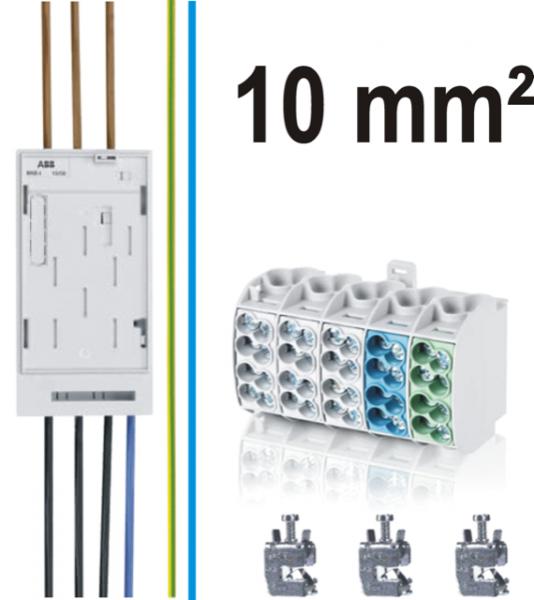 Umbau- / Nachrüstsatz 10 mm² für eHZ-Zähler