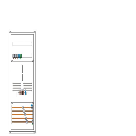 Stahlblech-Gehäuse HxBxT 1150x300x210mm, SK2, IP31/43