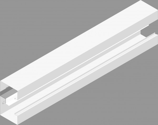 BK Metall 170 x 68 incl. Deckel, VPE 4mtr.