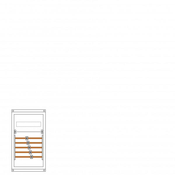 Einspeisegehäuse zur Montage seitlich am Zählerschrank