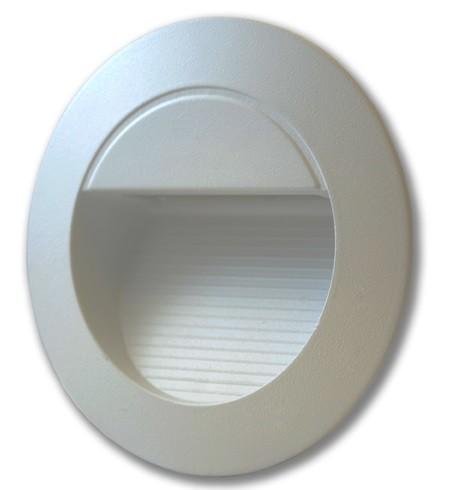 grau rund, AußenØ 126 Ges.H 126 Einbautiefe 65mm, DA 120rd.