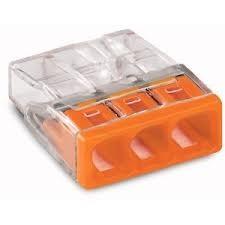 WAGO 2273-203 orange 3polig 0.50 bis 2.5 VPE 100