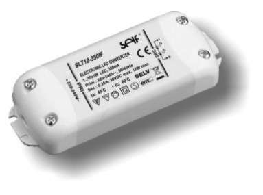 12W 700ma 60x40x20mm, für Power LED 3W