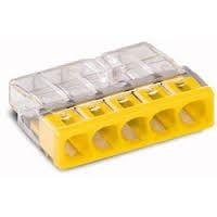 WAGO 2273-205 gelb 5polig 0.50 bis 2.5 VPE 100