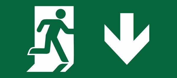 Pfeil nach UNTEN (rechts) passend zu 5208450