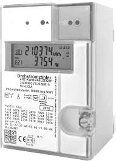 EHZ- Zähler Drehstrom/Stecksystem