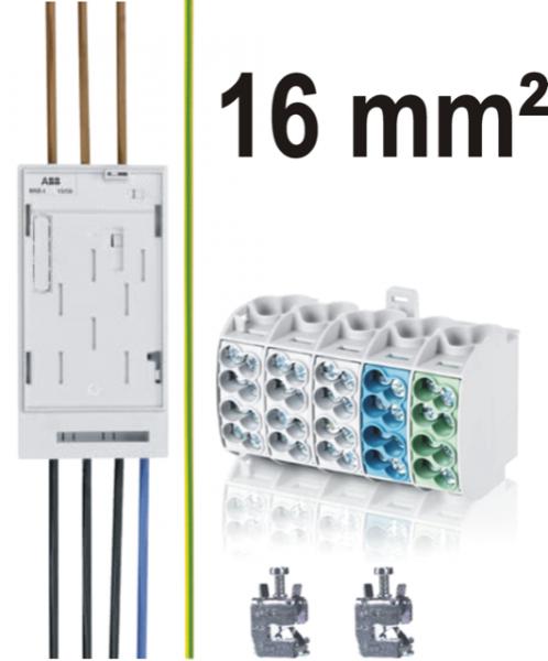 Umbau- / Nachrüstsatz 16 mm² für eHZ-Zähler